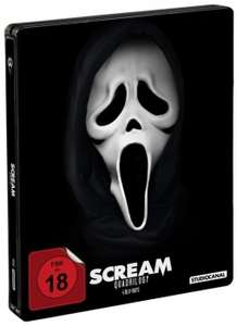 Scream Quadrilogy - Steelbook (Blu-ray) für 21,94€ (Alphamovies)