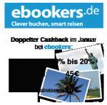 20% Cashback auf Hotelbuchungen bei ebookers @qipu