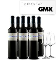 Vicampo Neukunden: 6 Flaschen guter Rotwein, 2 Spiegelau Weingläser für effektiv 9,90
