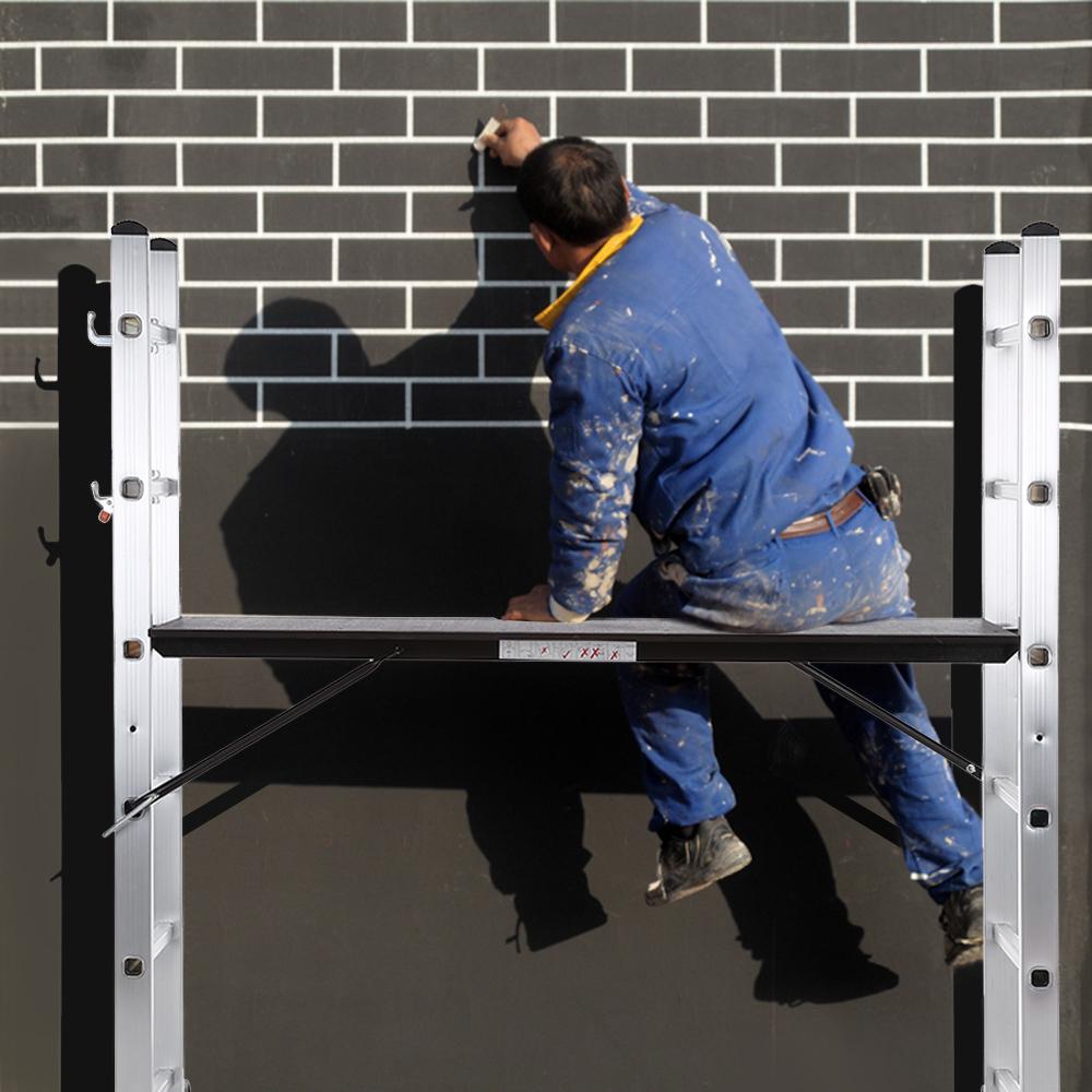 4-in1 Leiter Leiter mit Plattform (Arbeitsgerüst zum Anstreichen etc.)
