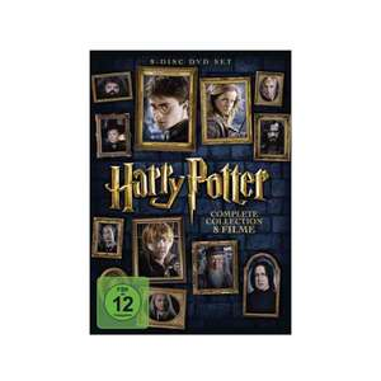 Saturn Harry Potter die komplette Kollektion DVD