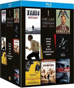 [amazon.fr prime] Oscar's Best 2010-2016 : Spotlight + Birdman + 12 Years A Slave + Argo + The Artist + The King's Speech + Tödliches Kommando [Blu-ray]