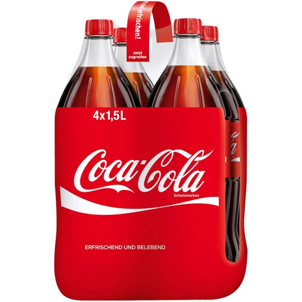 4x1,5l Coca Cola für 2,99€ bei Real bis Samstag
