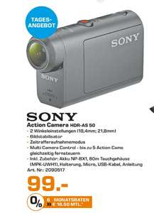 "(Lokal) Sony HDR-AS50 Actioncam für 99€ @ Saturn Kleve ""Tagesangebot"""