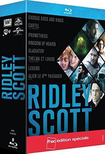 8 x Ridley Scott Blu-Rays: Exodus Counselor Prometheus Alien Gladiator Königreich der Himmel Thelma & Louise Legend nur 22,95 bei amazon.fr!
