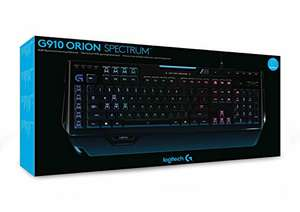 Logitech G910 Orion Spectrum Mechanische RGB-Gaming-Tastatur (QWERTZ, deutsches Layout)