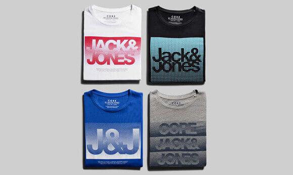 (Zavvi) 3 für 24€ Jack & Jones T-Shirts