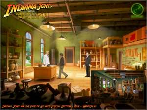 (PC + Mac) Indiana Jones and the fate of Atlantis - Special Edition kostenlos anspielen