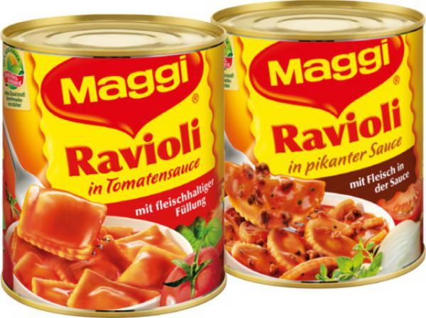Maggi Ravioli 800/810 g Dose zum BESTPREIS für nur 1,22€ bei REWE