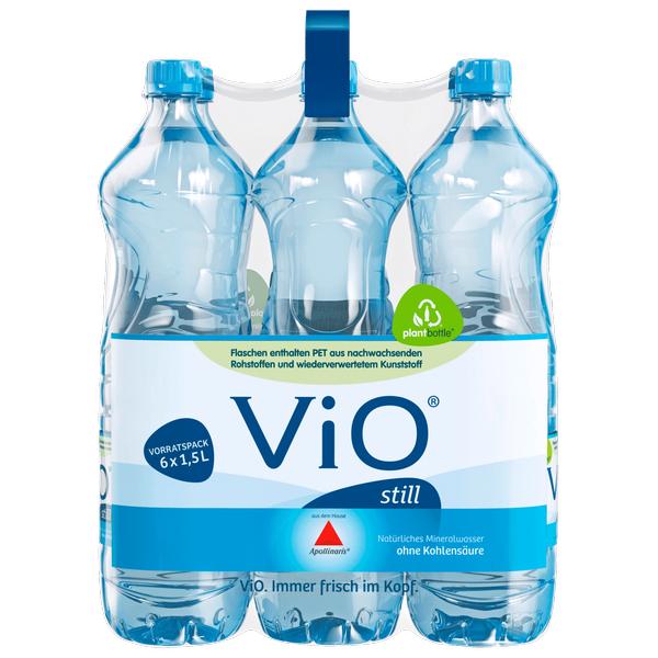 Apollinaris VIO Mineralwasser 6x 1,5l für 0,25€/Flasche bei Rewe ab Montag