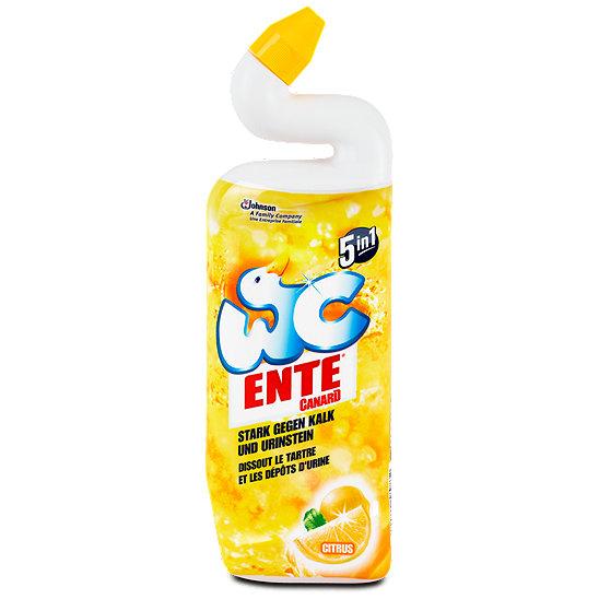 9x WC Ente 5in1 Aktiv Gel 750ml o. WC-Stick bzw. Mr. Muscle 5in1 Reiniger 500ml für nur 0,47€/Stück [Nur Mo.+Di. bei Real]