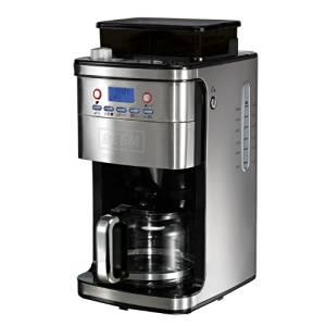 Amazon WHD - BEEM Kaffeemaschine mit Mahlwerk und Permanent-Goldfilter Edelstahl