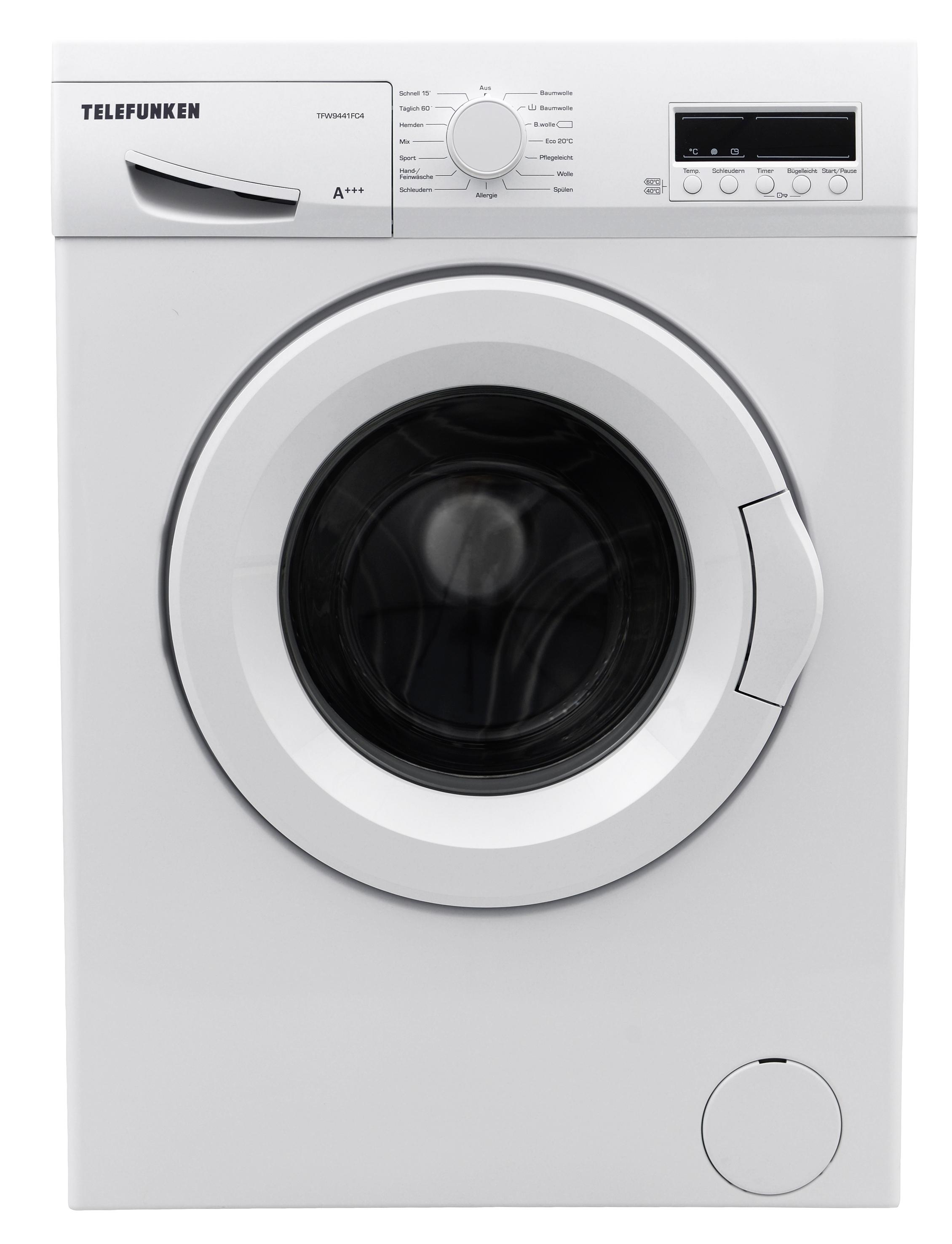 Telefunken Waschmaschine Frontlader, 7kg, A+++, 1400 U/min  229 Euro - bei REAL sowie im Online Shop.
