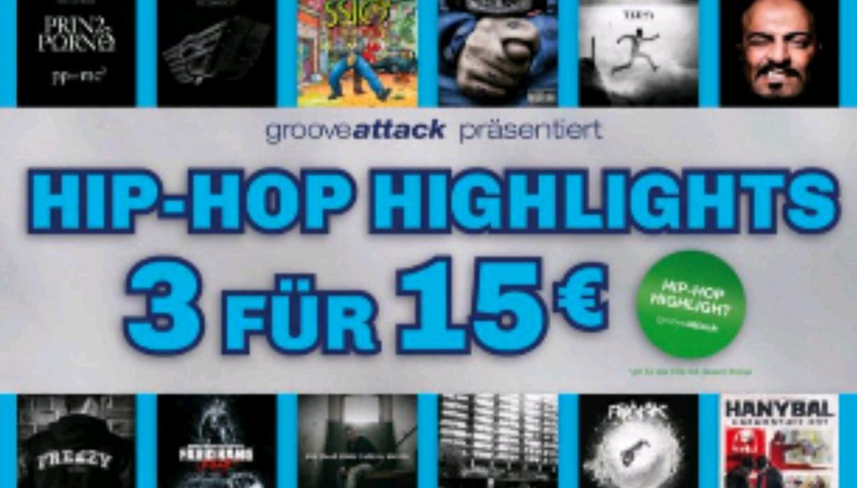 SATURN Hip Hop Highlights 3 für 15€ ( Bundesweit)