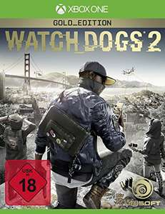 Watch Dogs 2 - Gold Edition inkl. Season Pass (Xbox One) für 46,98 inkl. VSK (Amazon Blitzangebot)