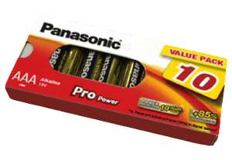 Panasonic AA Batterien 10 Stk. bei Mediamarkt für je 1 € zzgl. 1,99 Versand