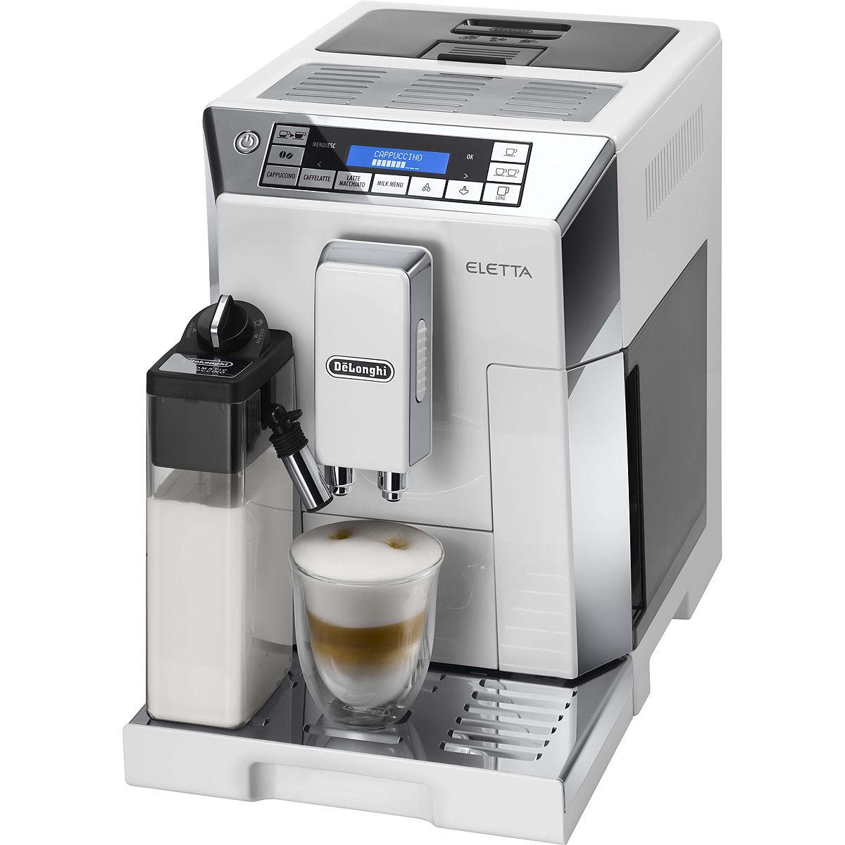 DeLonghi Kaffeevollautomat ECAM 45.766.W Eletta Cappuccino Weiß für 607,94€ [Karstadt]
