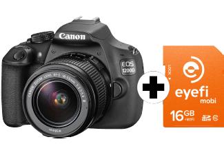 Canon Eos D1200 + Objektiv+ SD Card im Saturn Super Sunday