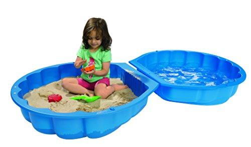 Sand- und Wassermuschel blau