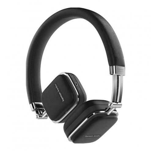 Harman Kardon SOHO Wireless On-Ear-Headset, Bluetooth, NFC, schwarz