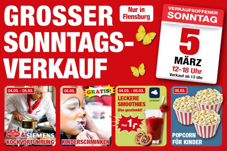 [Flensburg] Schulenburg - Kinderschminken und Popcorn für Kinder Gratis