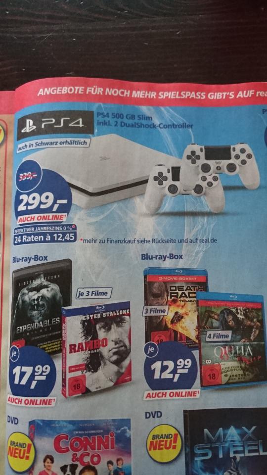 (Lokal Lippstadt) Real Markt Playstation 4 White 500GB mit 2ten Controller