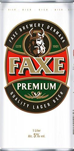 Faxe Danish Lager Beer (12 x 1 l) für 13,41€ (Vorbestellung b. Amazon)