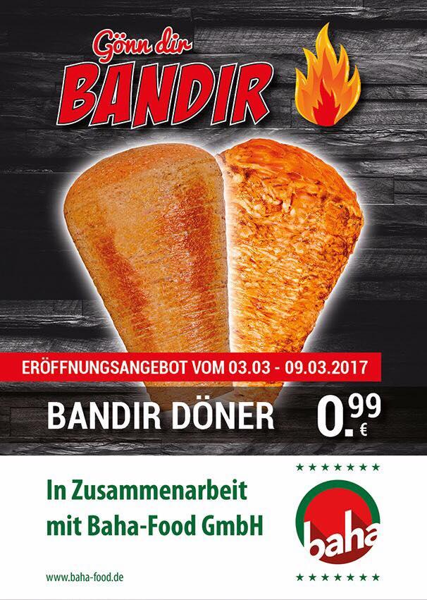 [lokal Berlin Spandau] Döner Kebap für 0,99€