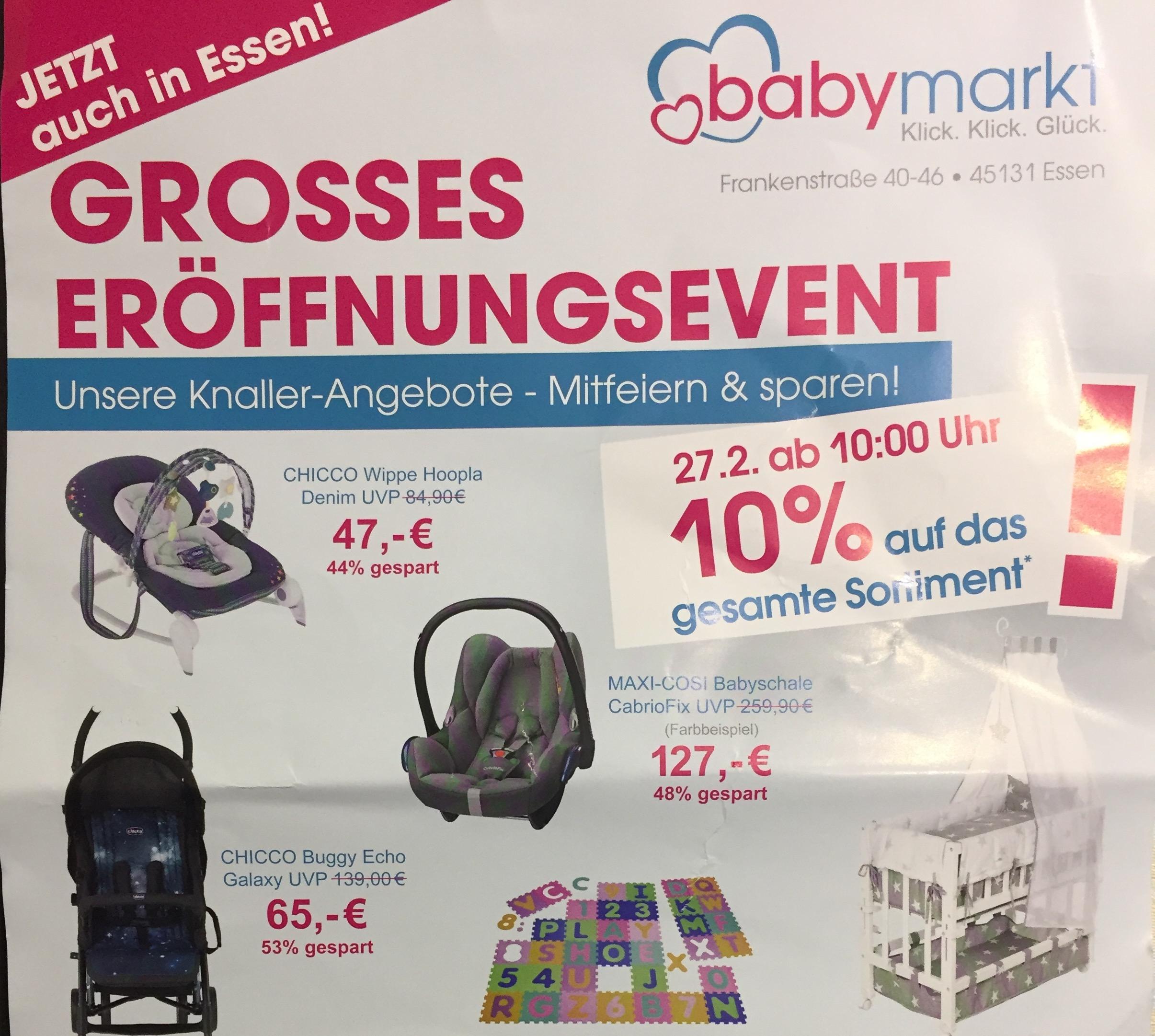 Chicco Wippe hoopla Denim in Essen !Neueröffnung! BabyMarkt