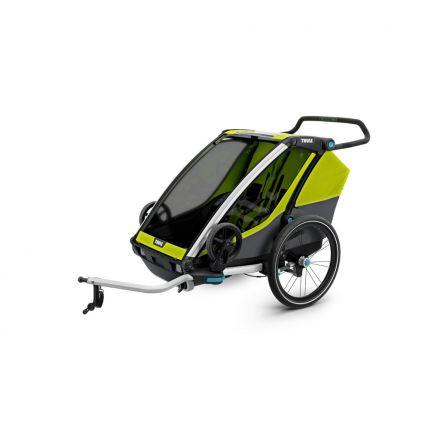 Thule Chariot Cab 2 mit gratis Lock Kit 2017 Modell - BESTPREIS