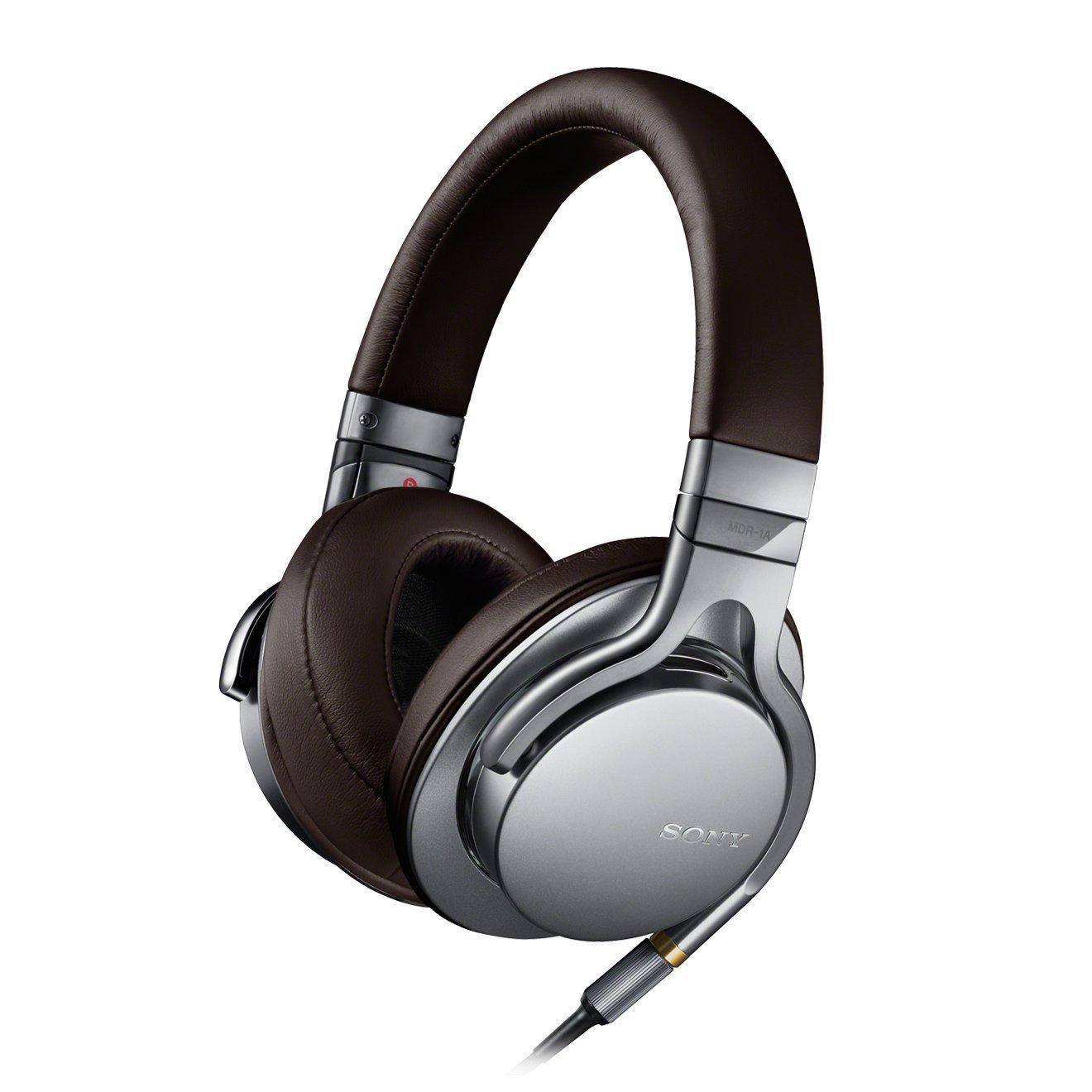 Amazon Tagesangebot - Sony MDR-1AS High Resolution Kopfhörer (40mm High Definition-Treibereinheiten) silber