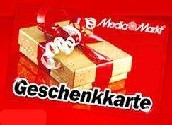 [MediaMarkt-offline] Geschenkgutschein Wert 60€ für 50€ nur Samstag, Montag und Dienstag