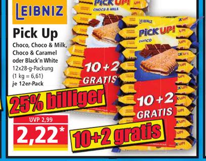 [Norma ab 06.03] Leibniz Pick up! 10+2 gratis für 2,22€