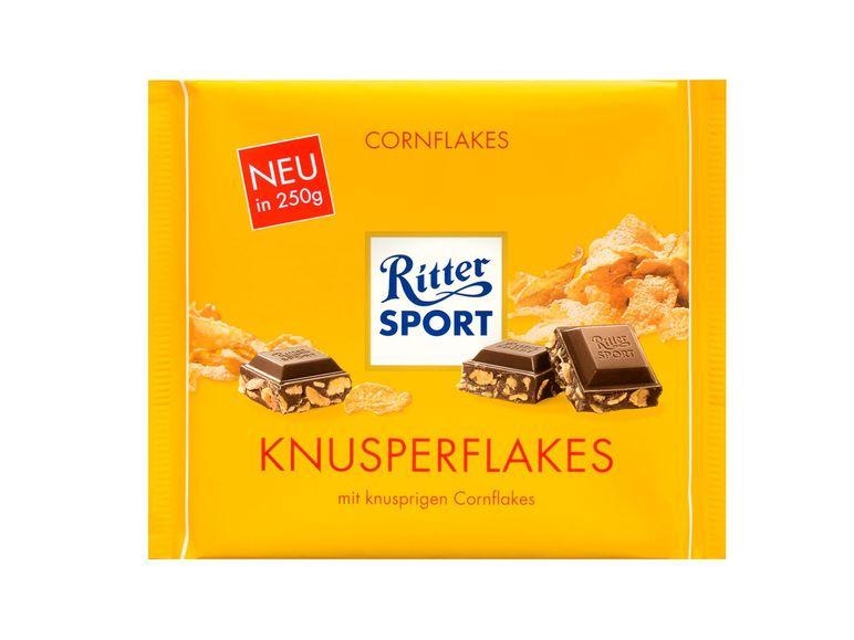 Lidl-Angebot: Ritter SPORT Schokolade versch. Sorten für 1,79 (250g Packung)