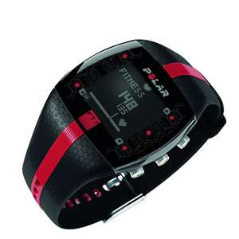 Amazon WHD - POLAR Sportuhr FT7M Black Red