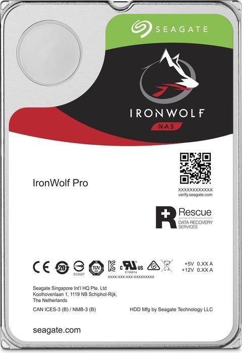Seagate IronWolf Pro NAS HDD 6TB (+4,99€ Versand, Abholung möglich)