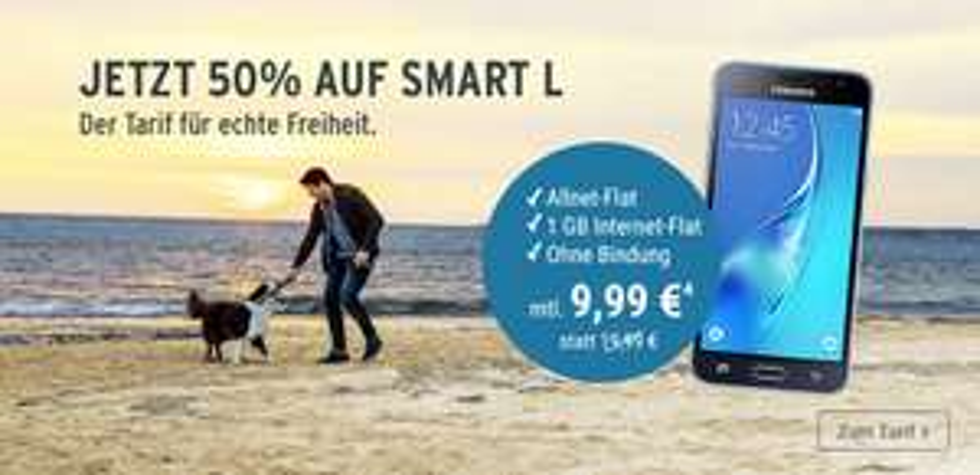 Allnet-Flat + 1 GB LTE + keine Bindung = Top