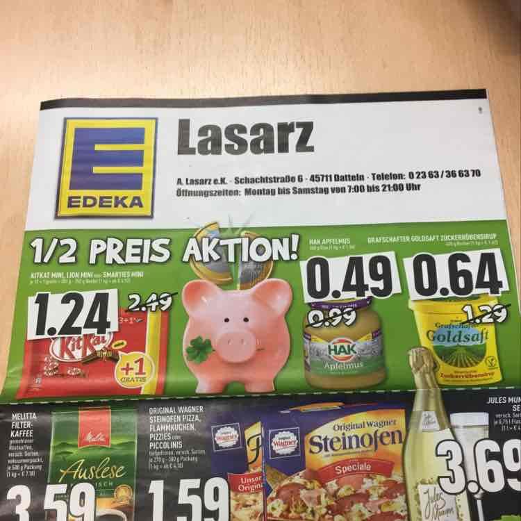 Kitkat Mini [lokal(?) Edeka Datteln]