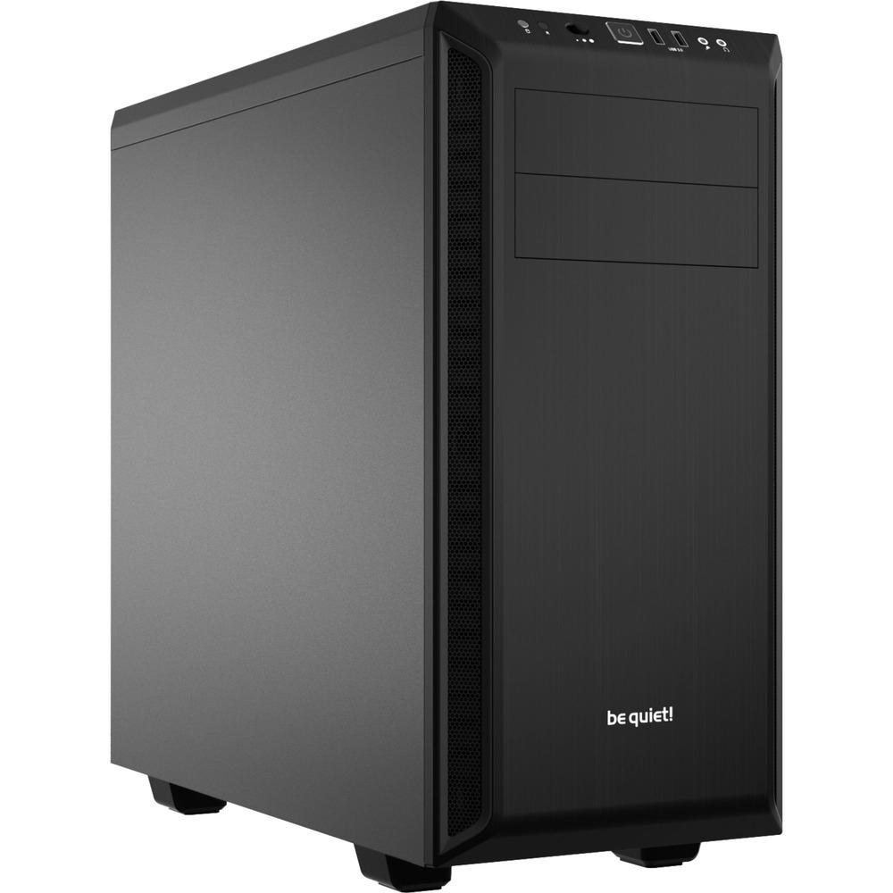 be quiet! Pure Base 600 PC-Gehäuse (schallgedämmt, Lüftersteuerung, Kabelmanagement, Staubfilter) für 62,40€ [Rakuten]