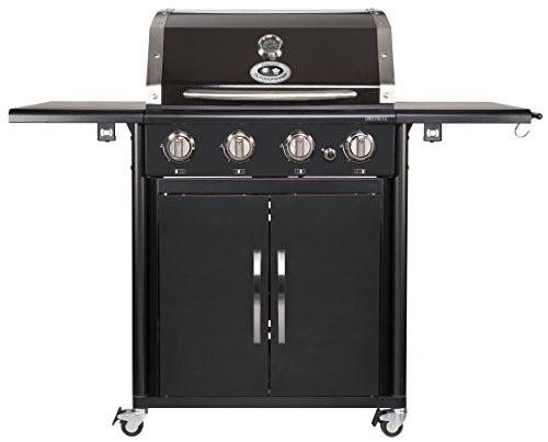 Amazon Blitzangebote - Outdoorchef CANBERRA 4G schwarz BBQ Gasgrill Grillstation 4 Brenner