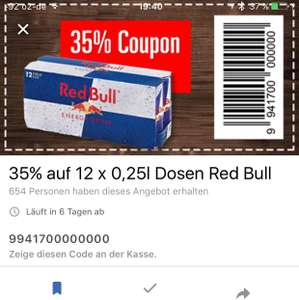 12x Red Bull Dosen  250ML   Bestpreis 8,37€ in Allen Marktkauf Filialen