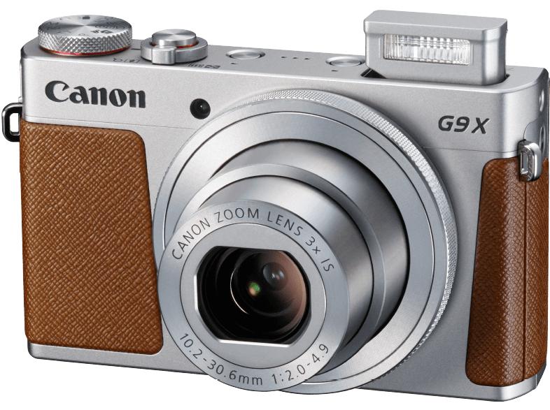 CANON PowerShot G9 X Digitalkamera Silber 327 €; Nikon Coolpix A300 rot o. silber 111 € bei Mediamarkt