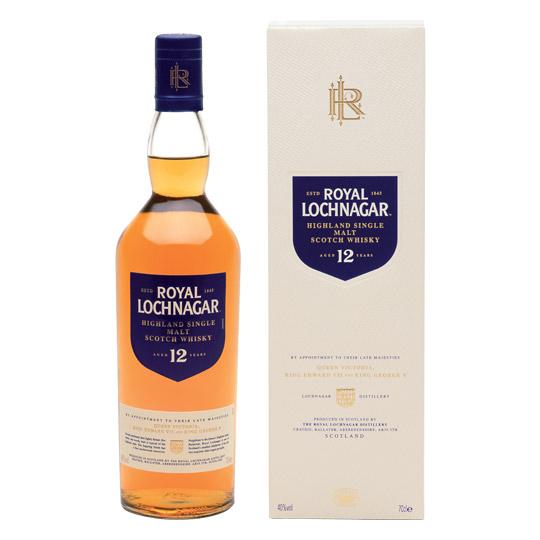 Royal Lochnagar 12 - Single Malt Scotch Whisky