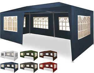 Festzelt 3x6m Partyzelt Bierzelt Gartenpavillon Zelt Garten Pavillon Gartenzelt