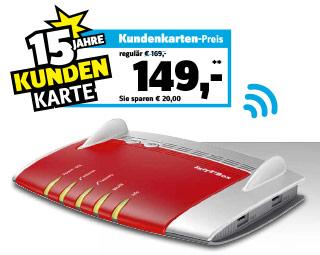 [München] AVM FRITZ!Box 7490 WLAN Router für 149 bei Conrad