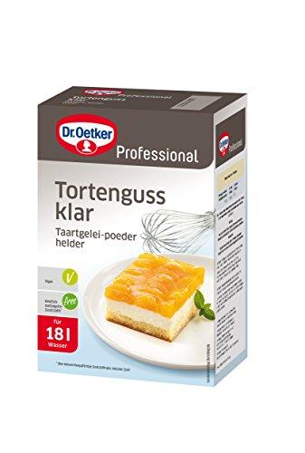 Dr. Oetker Professional Tortenguss, klar, 1 kg ( 18 L