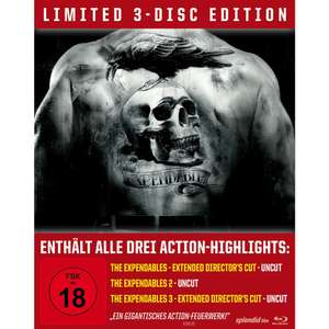 The Expendables Trilogy (Limited Edition, Steelbook) (Blu-ray) 14,99€ (bzw. 13,49€) (Lokal Müller)