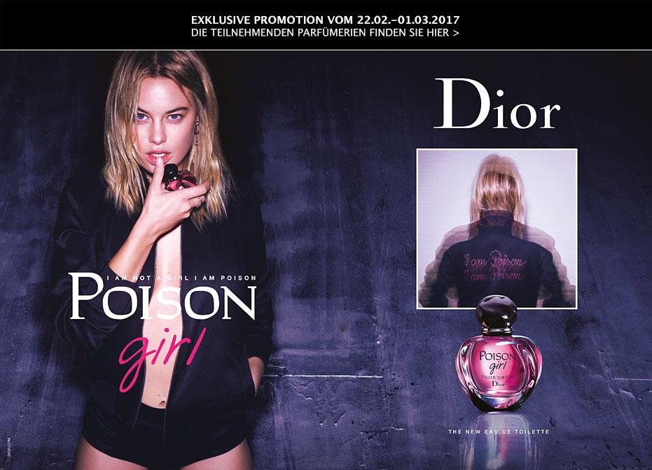 Poison Girl Miniflakon 5ml gratis - Parfümerie mit Persönlichkeit - kostenlos für Grazia-Leser