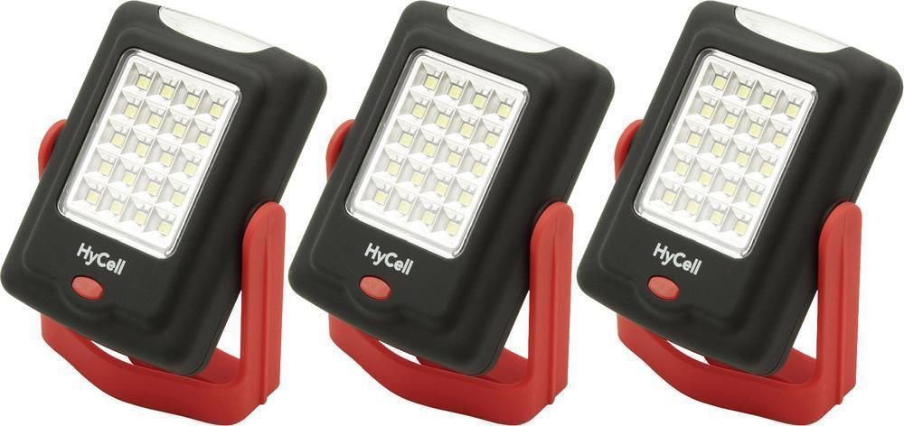 Sparset 3x HyCell LED Mini-Werkstattleuchte 1600-0086 mit SMD LED-Technologie