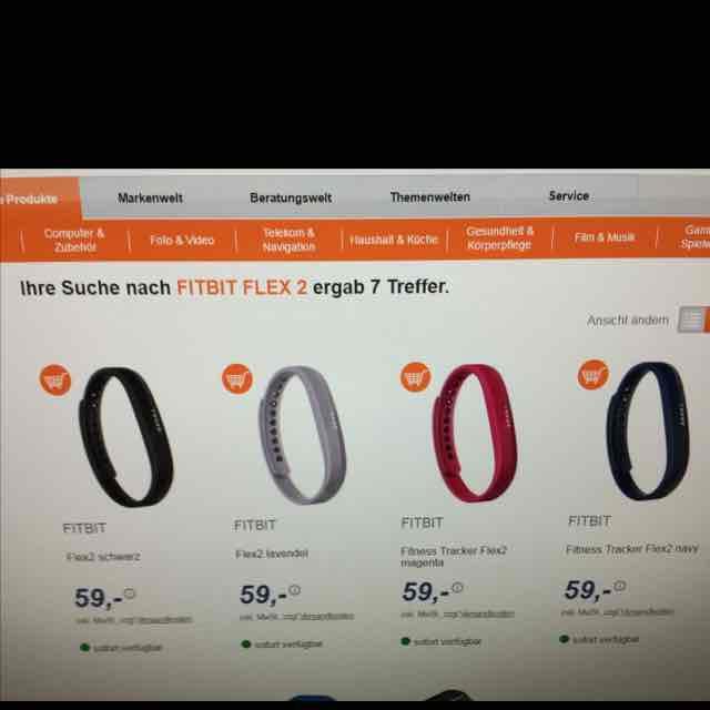 Fitbit Flex 2 für 59€ bei expert Gröblinghoff